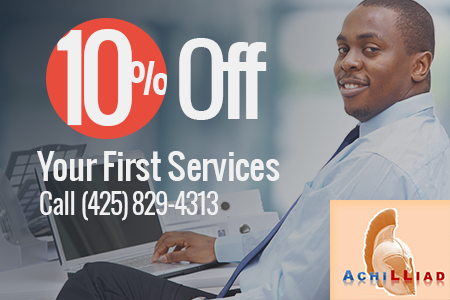 10% Off Your First Services Call (425) 829-4313